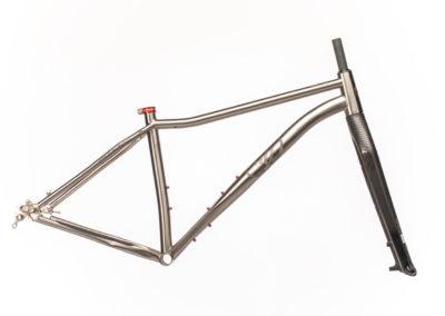 Bike Iron Frame & Fixed Fork